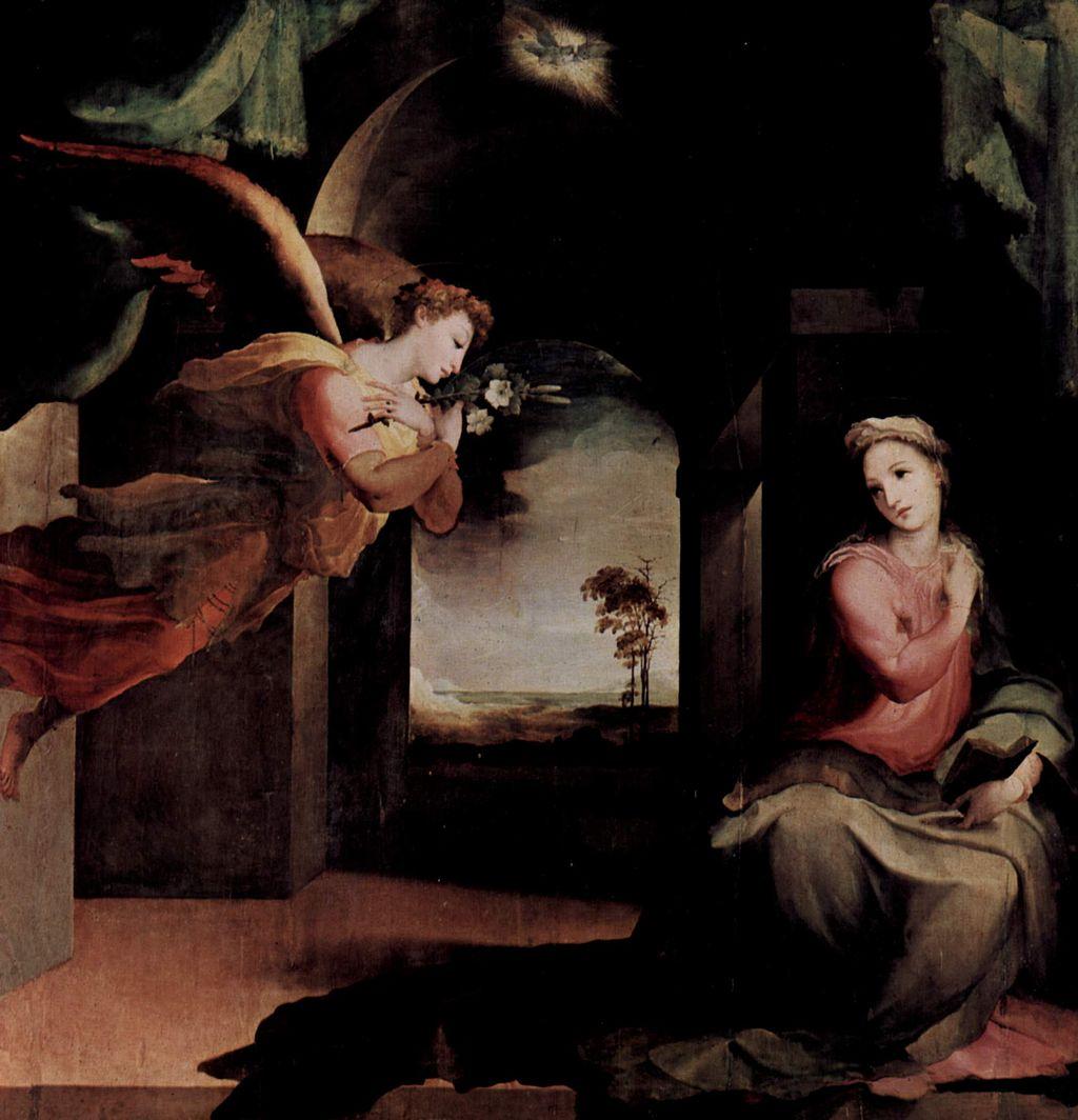 Domenico Beccafumi (1484–1551), Annunciazione