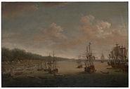Dominic Serres the Elder - The Capture of Havana, 1762- the Landing, 7th June