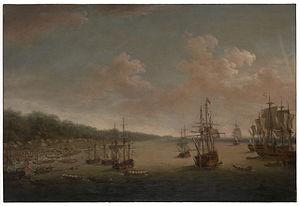 Dominic Serres the Elder - The Capture of Havana, 1762- the Landing, 7th June.jpg