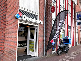 Domino's Pizza - Domino's Pizza in the Nieuw-Vennep, The Netherlands