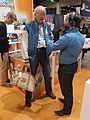 Don Rosa about to leave the Helsinki Book Fair 2014.jpg