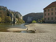 Donaudurchbruch Kloster Weltenburg.JPG