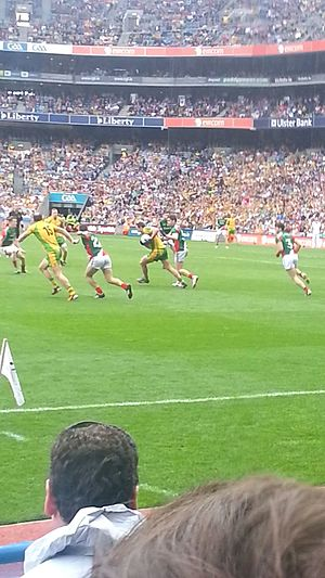 Donegal GAA - Donegal v Mayo in the 2012 All-Ireland Senior Football Championship Final, won by Donegal