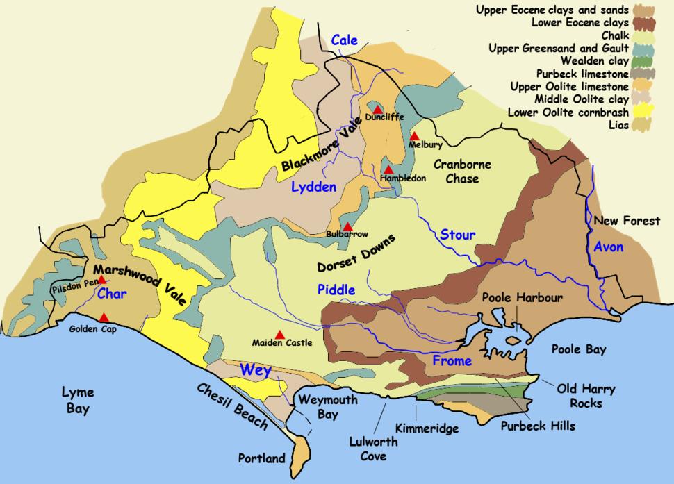 Dorset geology