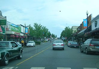 Courtenay, British Columbia - Downtown Courtenay