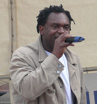 Dr. Alban - Dr. Alban during a live concert in 2009