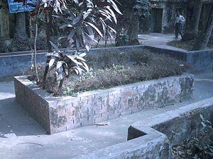 Muhammad Shahidullah - Shahidullah's tomb in Dhaka University campus