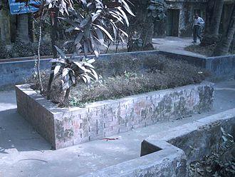 Muhammad Shahidullah - Shahidullah's tomb in University of Dhaka campus
