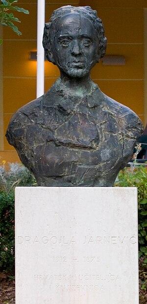 Dragojla Jarnević - A bust of Dragojla Jarnević in Crikvenica