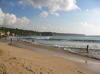 English: Dreamland Beach Bali