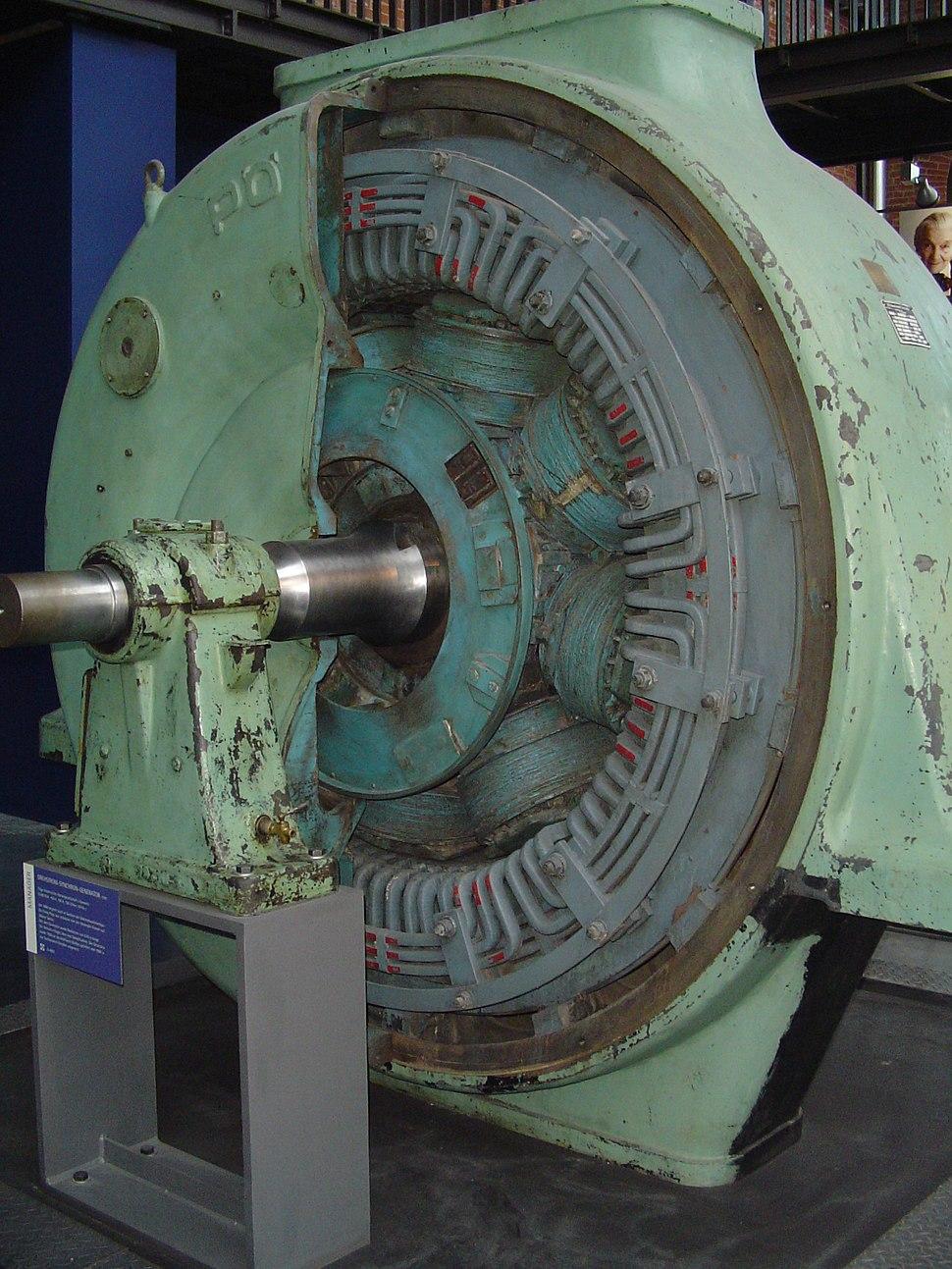Drehstrom-Synchron-Generator
