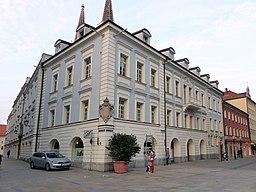 Drei-Helm-Gasse in Regensburg