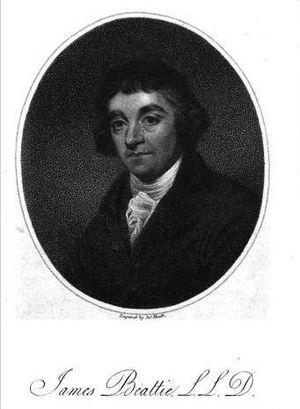 James Beattie (poet) - Portrait of James Beattie by James Heath