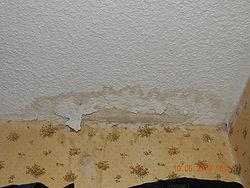 Drywall splotch