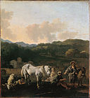 Du Jardin, Karel - Peasants and a White Horse - Google Art Project.jpg