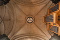 Dublin Christ Church Cathedral Choir Tower Crossing Vault and Shield of the Trinity 2012 09 26.jpg