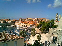 Den gamle by i Dubrovnik
