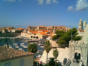 The Old Harbour at Dubrovnik