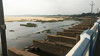 Durgapur Barrage dam in Bankura district, West Bengal