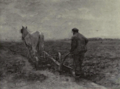 Dutch Painting in the 19th Century - Mauve - Ploughing.png