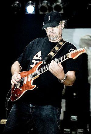 Riblja Čorba - Džindžer Božinović, shown here in 2007, joined Riblja Čorba in 1984 after Bajaga and Rajko Kojić left and has remained the band's lead guitarist ever since.