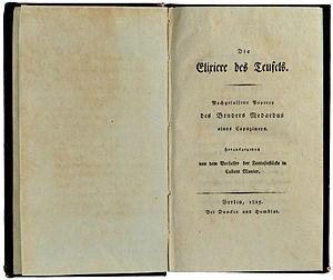 The Devil's Elixirs - Image: E.T.A.Hoffmann (1815)