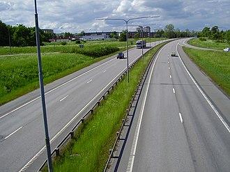 European route E22 - Image: E22norr 1