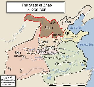 Zhao (state) one of the states in ancient Chinas Warring States period