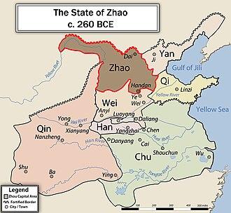 Zhao (state) - Image: EN ZHAO260BCE