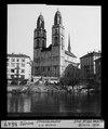 ETH-BIB-Zürich, Grossmünster von der Wühre-Dia 247-01647.tif