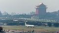 EVA Air Airbus A330-302X B-16332 Taking off from Taipei Songshan Airport 20140926a.jpg