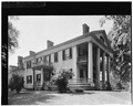 EXTERIOR, SIDE VIEW - Governor John Woods House, 425 South Twelfth Street, Quincy, Adams County, IL HABS ILL,1-QUI,2-2.tif