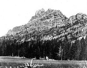 Eagle Peak (Wyoming) - Eagle Peak, c.1890