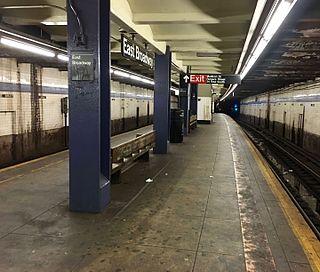 East Broadway station New York City Subway station in Manhattan