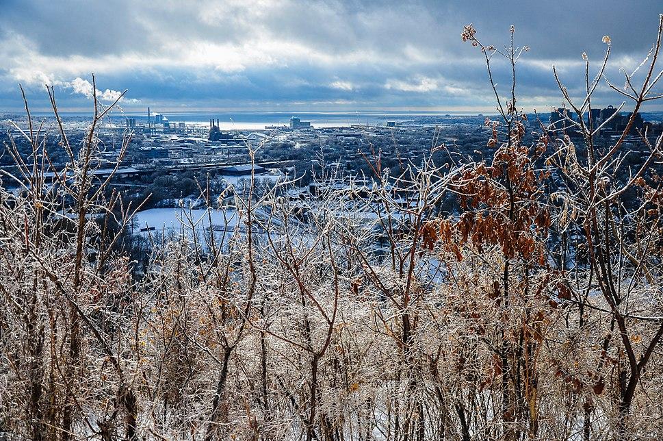 East rock winter