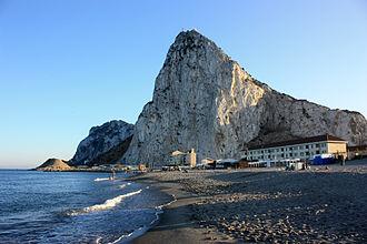 Eastern Beach, Gibraltar - Image: Eastern Beach