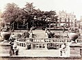 Easton Lodge and sunken garden between 1905 and 1918.jpg