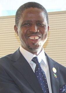 Edgar Lungu Zambian politician