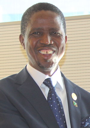 Zambian presidential election, 2015 - Image: Edgar Lungu January 2015
