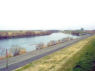Edo River - Edo River in Nagareyama, Chiba Prefecture, Japan