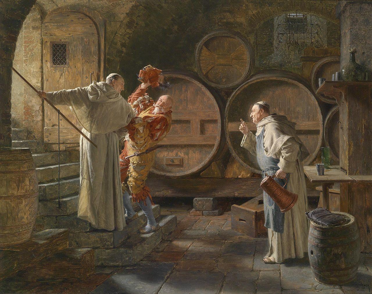 Eduard Grützner Nach schwerer Sitzung 1892.jpg