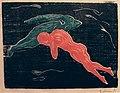 Edvard Munch. Encounter in Space (Møte i verdensrommet). 1898-99 (24707930729).jpg