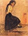 Edvard Munch - Half-Nude in a Black Skirt.jpg