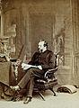 Edwin Lankester. Photograph by Ernest Edwards, 1868. Wellcome V0028434.jpg