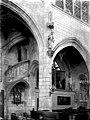 Eglise Saint-Nicolas - Intérieur- escalier et chapelle - Troyes - Médiathèque de l'architecture et du patrimoine - APMH00029685.jpg