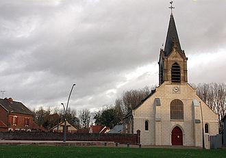 Abbécourt - Abbécourt Church of Saint John the Baptist