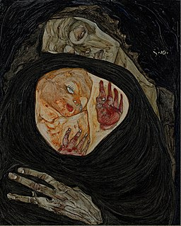Egon Schiele - Dead Mother I - Google Art Project