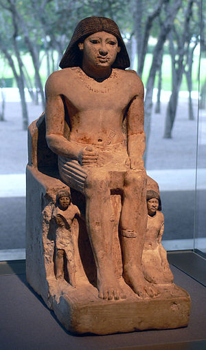 Khuwyptah - Khuwyptah depicted as a boy with his parents
