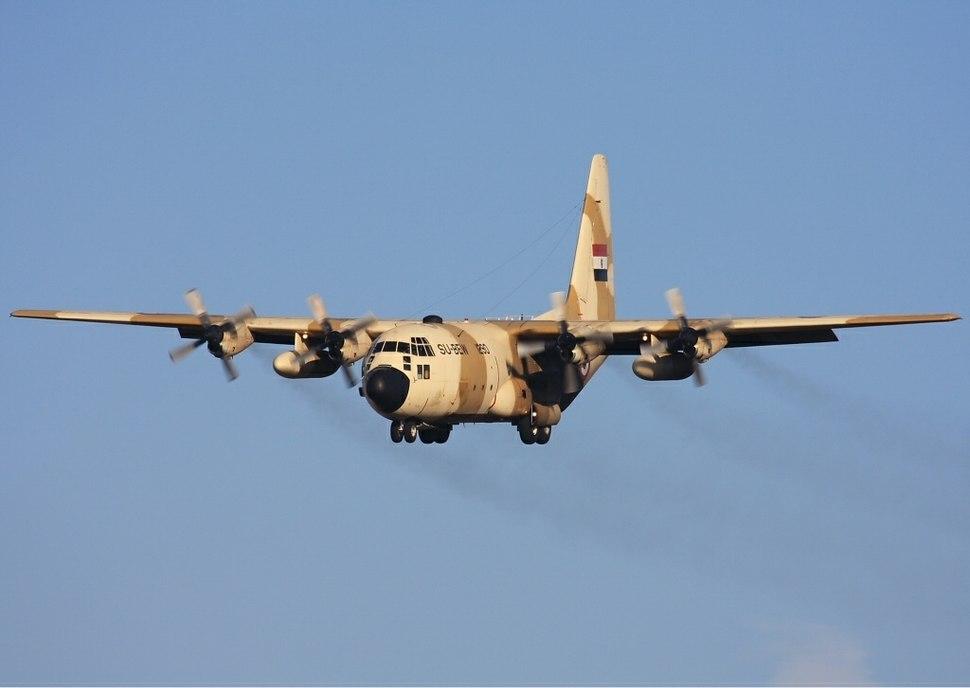 Egyptian Air Force Lockheed C-130H Hercules (L-382) Lebeda-1
