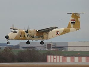 De Havilland Canada DHC-5 Buffalo - An Egyptian Air Force DHC-5D